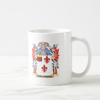 Friedrichs Coat of Arms - Family Crest Coffee Mug