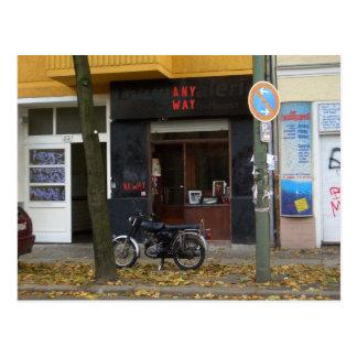 Friedrichshain Berlin scene Postcard
