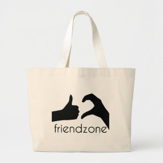 Friend area official logo jumbo tote bag