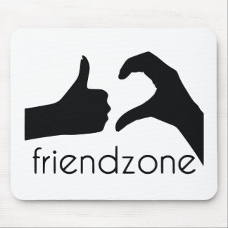Friend area official logo mouse pad