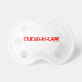 Friend-in-law Stamp Pacifier
