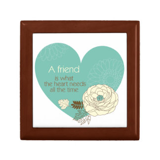friend is what the heart need gift box
