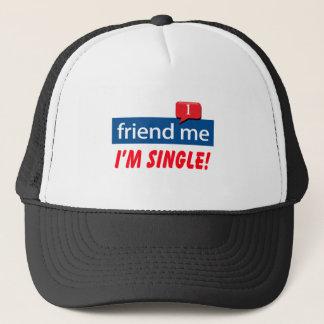 Friend Me, I'm Single! Trucker Hat