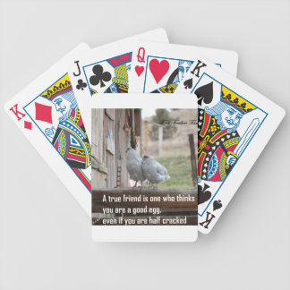friend meme bicycle playing cards