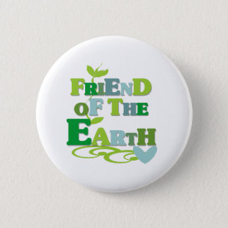 Friend of the Earth 2 Inch Round Button