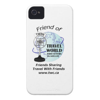Friend of Travel World iPhone 4S Case