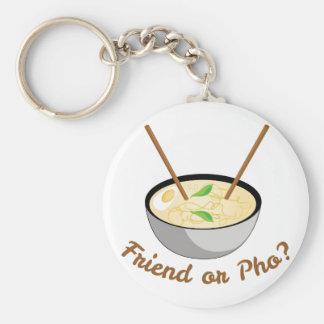 Friend Or Pho Keychain