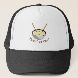 Friend Or Pho Trucker Hat