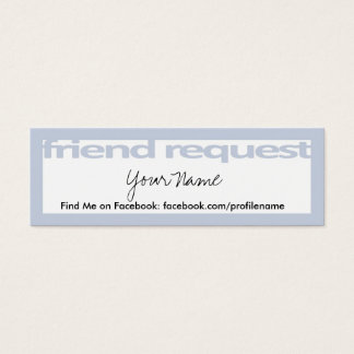 Friend Request Cards