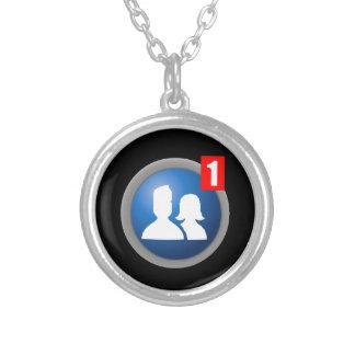 Friend Request Necklace