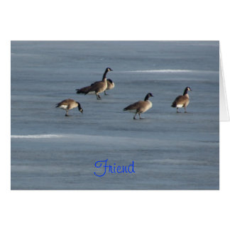 Friend, Stroll Down Memory Lane, Geese Card