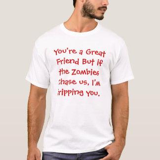 Friend Vs Zombie T-Shirt