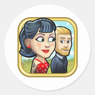 Friendbase Couple Stickers