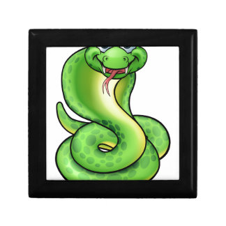 Friendly Cartoon Cobra Snake Gift Boxes