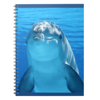 Friendly Dolphin Photo Notebook