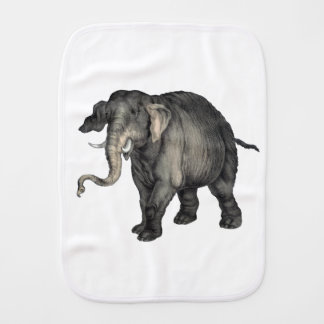 friendly elephant 🐘 burp cloth