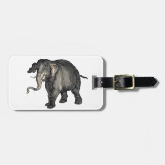 friendly elephant 🐘 luggage tag