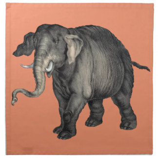 friendly elephant 🐘 napkin
