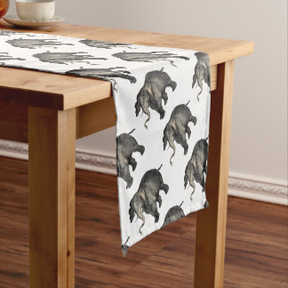 friendly elephant 🐘 short table runner