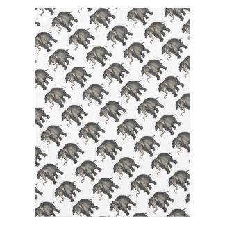 friendly elephant 🐘 tablecloth