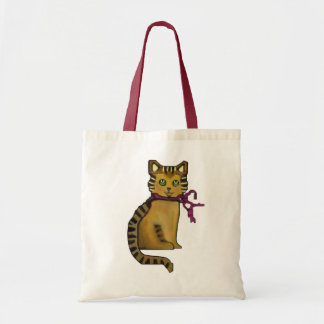Friendly Feline Tote Bag