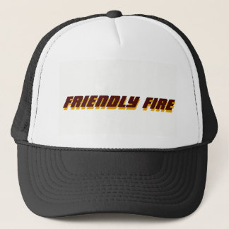 FRIENDLY FIRE TRUCKER HAT
