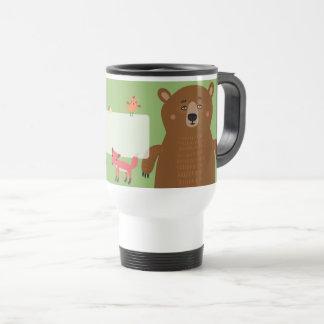 Friendly Forest Animals Travel Mug
