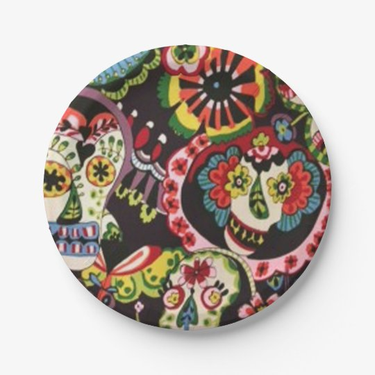 Friendly Gathering DOD Party Paper Plates 7 Inch Paper Plate