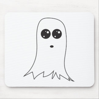 Friendly Ghost Mouse Pad