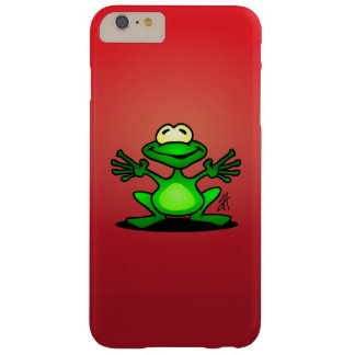Friendly green frog barely there iPhone 6 plus case