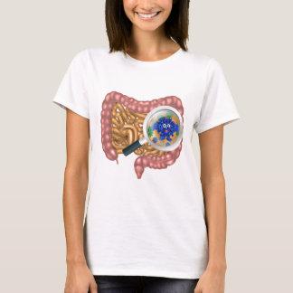 Friendly Intestine Probiotic Bacteria Mascot T-Shirt