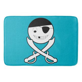 Friendly Jolly Roger Bath Mat