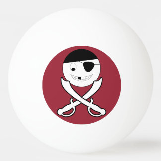 Friendly Jolly Roger Ping Pong Ball