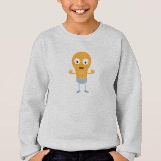 Friendly light bulb happy Z825i Sweatshirt