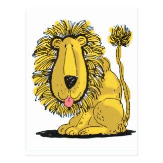 Friendly Lion Postcard