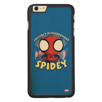 Friendly Neighborhood Spidey Mini Spider-Man Carved® Maple iPhone 6 Plus Case