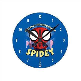 Friendly Neighborhood Spidey Mini Spider-Man Clock