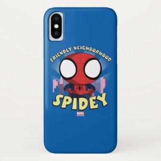 Friendly Neighborhood Spidey Mini Spider-Man iPhone X Case