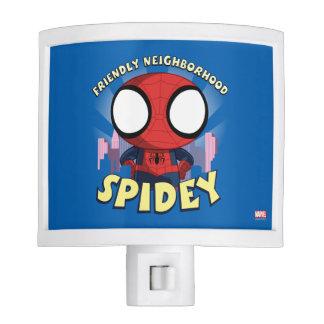 Friendly Neighborhood Spidey Mini Spider-Man Night Lites