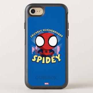 Friendly Neighborhood Spidey Mini Spider-Man OtterBox Symmetry iPhone 8/7 Case