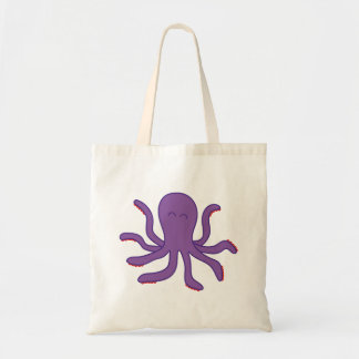 Friendly Octupus Totebag Tote Bag