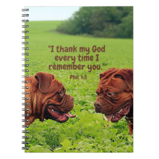Friendly Pugs - Thinking of You Notebook/Journal Note Books