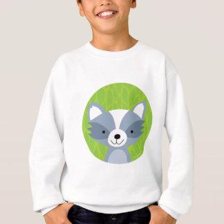 Friendly Raccoon - Woodland Friends Sweatshirt