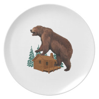 Friendly Savage Party Plate