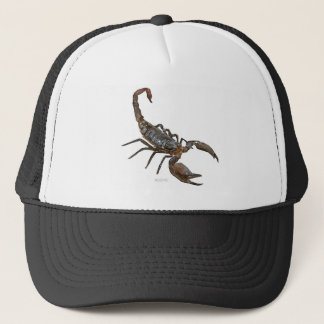 Friendly Scorpion Trucker Hat