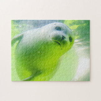 Friendly Seal Jigsaw Puzzle