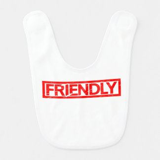 Friendly Stamp Bib