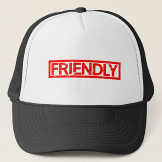 Friendly Stamp Trucker Hat