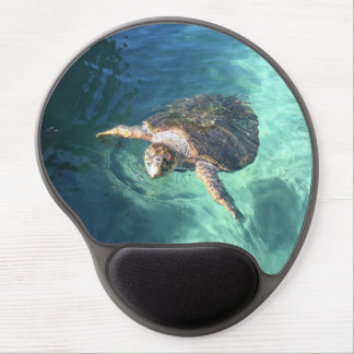 Friendly Turtle in Mexico Gel Mouse Pad