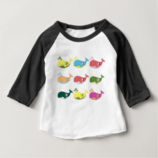 Friendly Whales Baby T-Shirt
